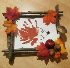 Herbst basteln basteln - Herbst basteln mit Kindern - The Dallas Media Easy Fall Crafts, Fall Crafts For Kids, Diy For Kids, Kids Crafts, Diy And Crafts, Arts And Crafts, Leaf Crafts, Craft Wedding, Wedding Decor