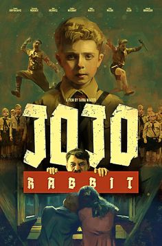 Jojo Rabbit by Jaime Stark - Home of the Alternative Movie Poster -AMP-