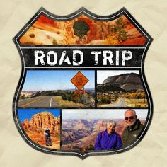 """I came home from the US a week ago, where I among other things took a road trip from Salt Lake City, UT, to Tucson, AZ, with my """"American parents""""!<br /> We stopped at Bryce Canyon, UT, Grand Canyon South Rim and Sedona, AZ, on our way.<br /> And this is the cover for my new project - a Shutterfly-book on this trip!<br /><br /><br />Credits:<br /> Template and paper by Kellie Mize (ex-WST)"""