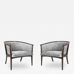 Milo Baughman Milo Baughman for Thayer Coggin Lounge Chairs