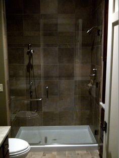 Call Binswanger Glass Kansas City @ to design and install custom shower enclosures to fit any space! Frameless Shower Enclosures, Custom Shower, Glass Shower Doors, Kansas City, Bathtub, Design, Bath Tub, Bathtubs