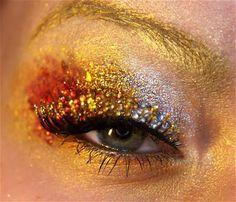 Girl on Fire Makeup #1