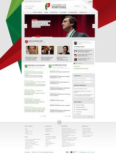 Governo de Portugal  Creative proposal by Foan82  webdesign ux/ui 2011-12