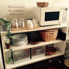 キッチン収納のインテリア実例 - 2015-03-28 04:15:34 | RoomClip(ルームクリップ)