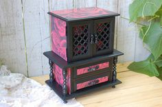 Hey, I found this really awesome Etsy listing at https://www.etsy.com/listing/158884353/jewelry-box-armoire-shabby-chic