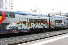 The Rollin' Dead.    TER train, France 2012