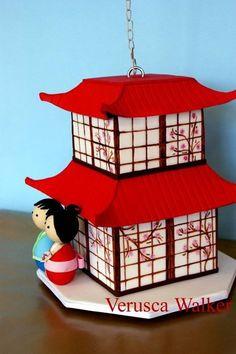 Japanese house  Cake by Verusca Walker