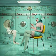 """Laundrette"" by Ray Caesar"