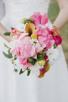 Peony Flower Arrangements, Wedding Flowers Photos by Paige Winn Photo Iris Bouquet, Peony Bouquet Wedding, Pink Bouquet, Brooch Bouquets, Peony Flower Arrangements, Beautiful Flower Arrangements, Floral Arrangement, Wedding Flower Photos, White Wedding Flowers