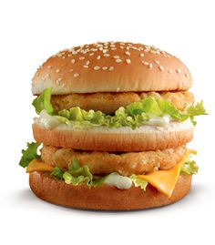 #McDonald's Arabia: Simply Special Chicken Big Mac #mcdonalds