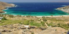Megalo Livadi Beach in Serifos Island, Greece