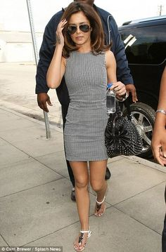 Cheryl Cole in a McQ dress