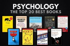 The brain works in mysterious ways; The best authors and minds in the area of psychology have given us all the information we need, in order to understand how our brains really work. Top Books To Read, Good Books, Best Art Books, Book Club Books, Book Lists, Best Science Books, Evolutionary Psychology, Best Self Help Books, Entrepreneur Books