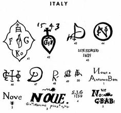 Pottery & Porcelain Marks - Italy - Pg. 10 of 17