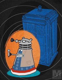 Daleks as Doctors | The Mary Sue --Click link to see all of them