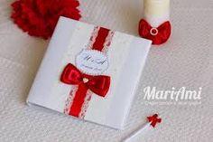 Картинки по запросу книга пожеланий свадьбы красного цвета
