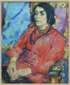 Porträt von Else Lasker-Schüler malte Lene Schneider-Kainer um 1914/15