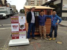 Self-built mobile house workshop by Kyohei Sakaguchi in San Francisco.