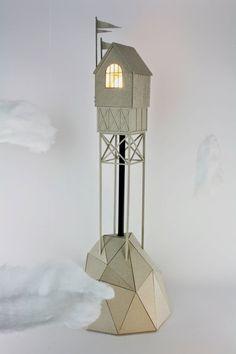 11-Tower-with-Captured-Light-Vera-van-Wolferen-Architectural-Cardboard-Night-Lights-www-designstack-co