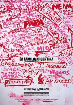 Santiago Vanin - La Familia Argentina // Cátedra Gabriele - DG / FADU, UBA (ARG)