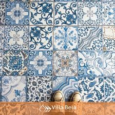 Maravilhoso, Blue Memory @decortiles 😍😍 #villabelarevestimentos #arquitetura…