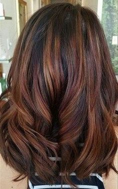 Gorgeous fall hair color for brunettes ideas (47)