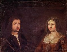 Picture: Ferdinand II of Aragon and Isabella I of Castile On this day in history, 19th October...the in-laws