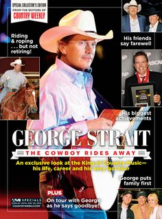 George Strait: The Cowboy Rides Away - Country Weekly