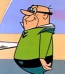 See image of Daws Butler, the voice of W. Cogswell in Jetsons (TV Show).