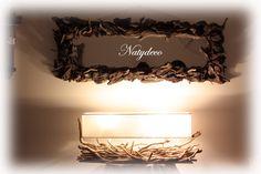 Lampe en bois flotté NATYDECO En vente sur http://www.natydecocorse.com/