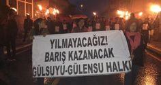 Maltepe Gülsuyu-Gülensu halkı katliamı lanetledi
