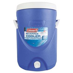 Keep the group cool and hydrated on sweltering days with a Coleman® 5 Gallon Beverage Cooler. The side handles make carrying easy, and the screw-top lid stays secure during transport or while lifting this beverage cooler on a table top or bench. Once you're set up at your destination, the entire group can fill their cups from the easy-use faucet and stay refreshed all day long.<br><br>• Easy-use faucet lets you conveniently fill your drink<br>•...