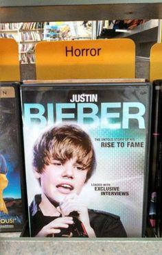Cherchez l'erreur : Promo Bieber
