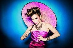 Because It's Fun [And Colorful!]: Jennifer Lopez for TOUS Spring 2011 Campaign by Ellen von Unwerth