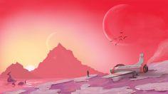 Billedresultat for Indie Game Art style No Man's Sky, Background Images Wallpapers, Wallpaper Backgrounds, Hello Games, Sky Hd, Sky Aesthetic, Fan Art, Sci Fi Art, Art Logo