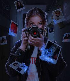 Digital Art Girl, Digital Portrait, Portrait Art, Detective Aesthetic, Aesthetic Art, Creative Photography, Photography Poses, Kreative Portraits, Wattpad Book Covers