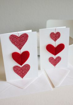 from wax print? Creative Cards, Creative Ideas, African Crafts, Red Felt, Felt Fabric, Valentine Day Cards, Aprons, Fabric Design, South Africa
