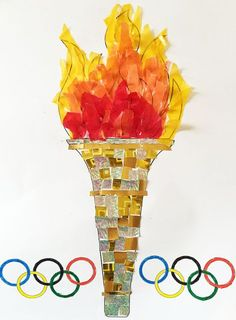 Sizzling Sunsets over Rio de Janeiro Fun Collage Activity - paper mosaic Olympic torch paper mosaic Olympic torch paper mosaic Olympic torch Welcome to our web -