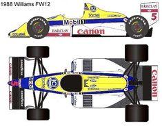 1988 Williams FW12