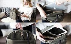 The O.M.G. - Women's Lightweight Travel Bag & Stylish Gym Bag - Lo & Sons - my new favorite bag!