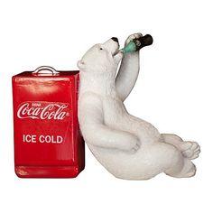 Coca-Cola Polar Bear with Cooler