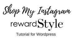 Let Me Know, Let It Be, What You Think, Thinking Of You, Wordpress, Channel, Shop My, Tutorials, Simple