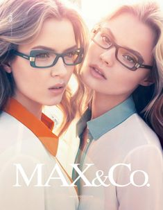 Magdalena Frackowiak and Josephine Skriver by Claudia Knoepfel and Stefan Indlekofer for the Max Fall 2012 Campaign
