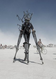 "From Burning Man. Not sure who to credit. Also ""Dystopia"" was closest category I could think of this aesthetic."