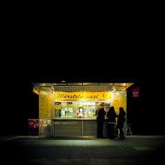 """No. 4, """"Eiterquellen"""", Viennese hot dog stands by Stefan Fürtbauer"""