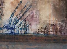 Urban, Painting, Art, Art Background, Painting Art, Kunst, Paintings, Performing Arts, Painted Canvas