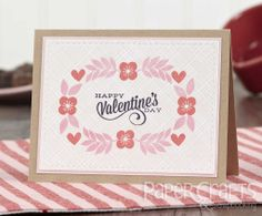 Heather Campbell Valentine's Day card - Paper Crafts & Scrapbooking