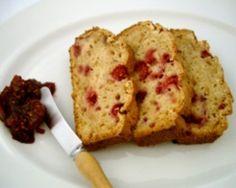 apple and raspberry bread