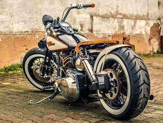 Old Harley bobber