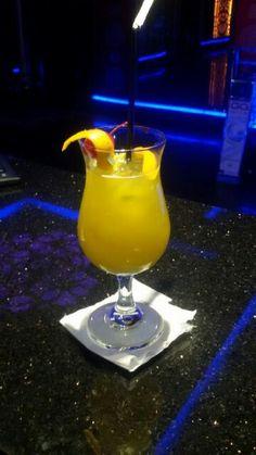 Sarila #cocktail  Ingredient -Rum -brandy -benedictine dom -melon liqeuer -orange juice